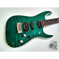 Fender® Custom Shop FMT Showmaster Set Neck '2000 Emerald Green