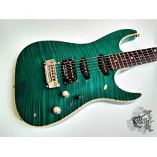 Fender® Custom Shop FMT Showmaster Set Neck '2000 Emerald Green