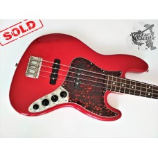 Fender® Deluxe Active Jazz Bass® '2001 Red Tortoise (витринное)