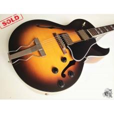 Gibson ES175 Memphis '2013 Vintage Sunburst w/case&docs (отличное)