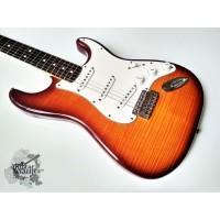 Fender® Standard Plus Top Stratocaster® '2013 Tobacco Sunburst (отличное)
