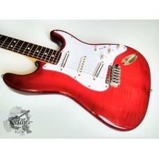 Zhuravlev (DiMarzio®) Stratocaster Plus Top '2006 Red Burst w/case